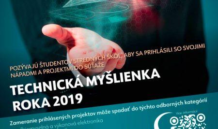 Technická myšlienka roka 2019
