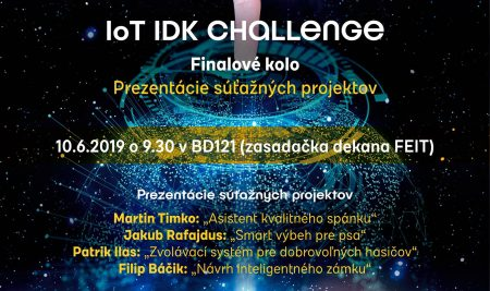 Finále – IoT IDK CHALLENGE