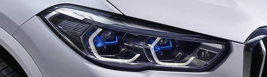 laserové svetlomety